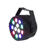 MG Lighting Mini led par 12x1 watt R.G.B.W 7